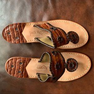 Jack Rogers heel sandals